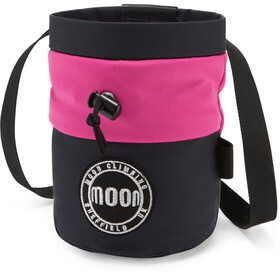 Moon Climbing S7 Retro Chalk Bag MIS navy/pink